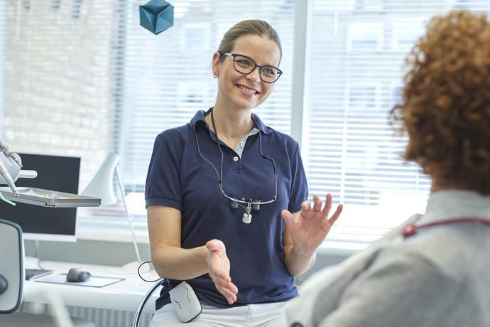 Professionel vejledning hos tandlæge